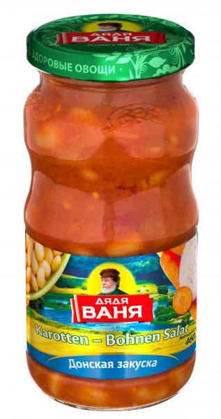 Karotten-Bohnen Salat