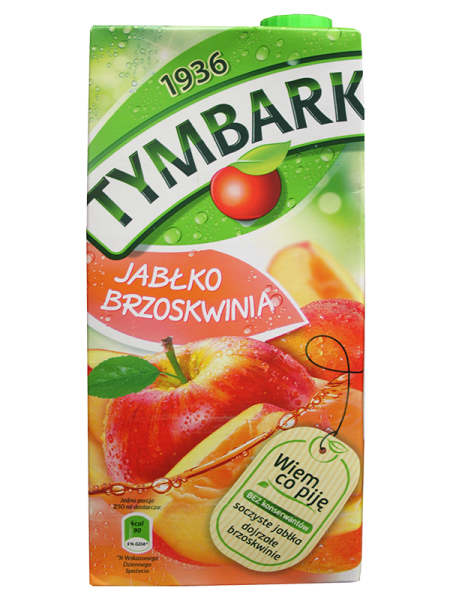 Apfel-Pfirsich Getränk
