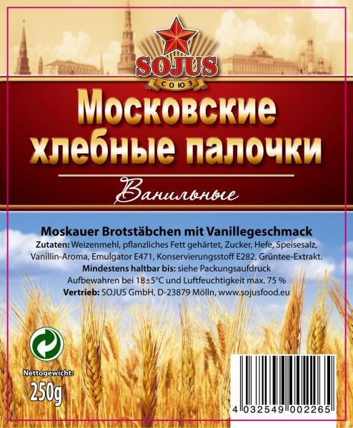 """Brotstäbchen """"Moskovskie"""" mit Vanillegeschmack"""