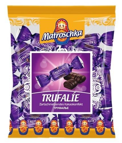 Zartschmelzendes Kakaokonfekt Trufalie 250 g x 8 Stk/Krt