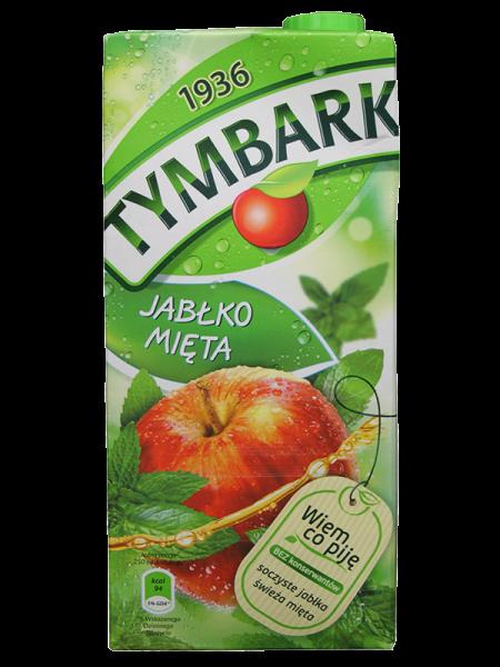 Apfel-Minze Getränk