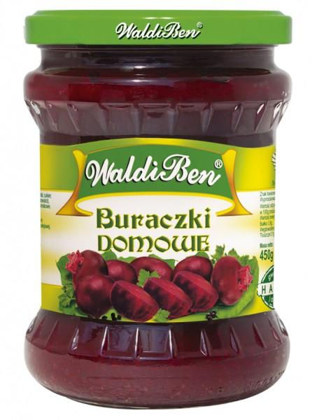 Rote Bete nach polnischer Art / Buraczki domowe